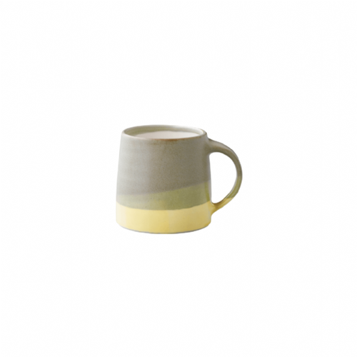 Kinto 'SCS-S03' Mug Moss Green/Yellow 320ml